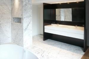 Réalisation d'une salle de bain complète